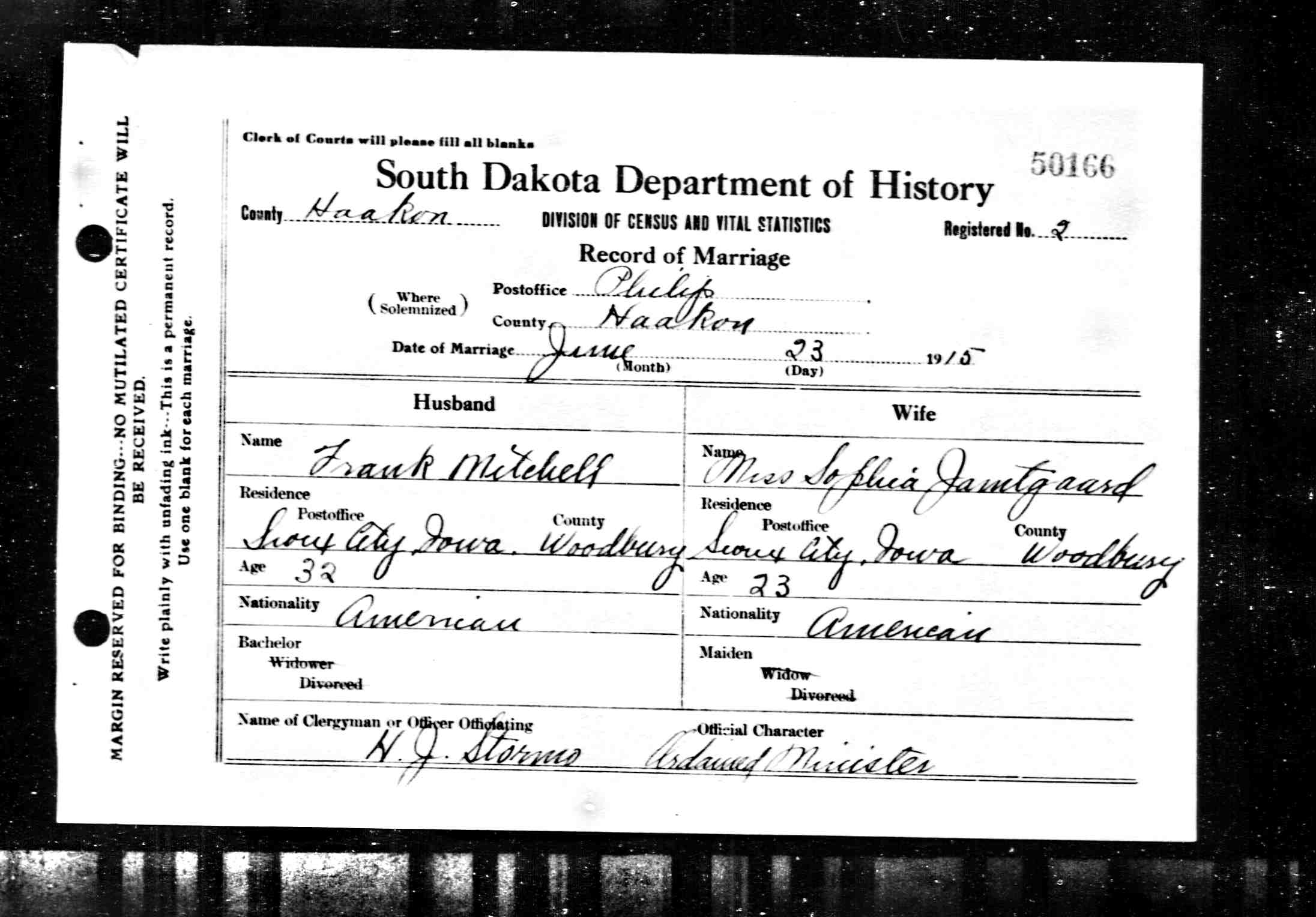 Friede Abrahamson Genealogy Site Person Page 106